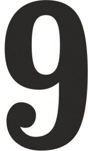 Tall og bokstaver - EKSTRA store