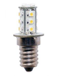LED-pære 12 volt mini,1,4 W 15 SMD, sokkel E14