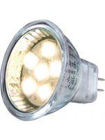 LED-pære spot 12V G4 1,3W 40lm