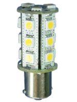 LED-pære 12 Volt 3 W 15 LED, BA15S-sokkel