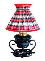 Bordlampe Kvam 14''', skotskrutet