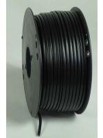 Monteringskabel 2 x 0,75 kvmm sort (100 m rull)
