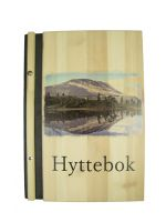 Hyttebok med fargefoto