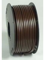 Monteringskabel 2 x 0,75 kvmm brun (100 m rull)